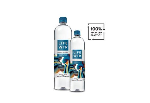 2 LIFEWTR bottles