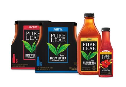 Pure Leaf Brewed Tea bottles