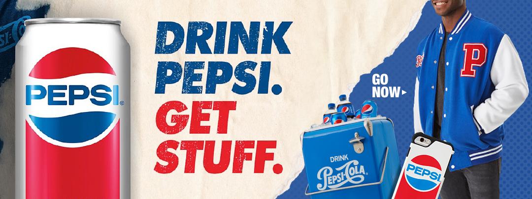 Drink Pepsi Get Stuff Promotion