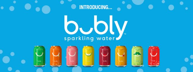 Introducing Bubly Sparkling Water