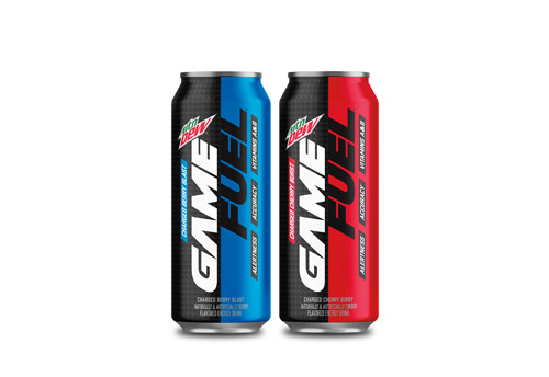 2 Mountain Dew Game Fuel cans