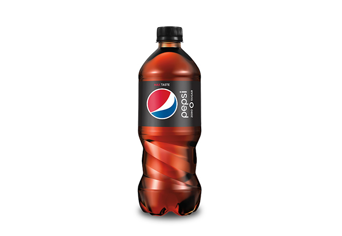 Pepsi Zero Sugar Bottle